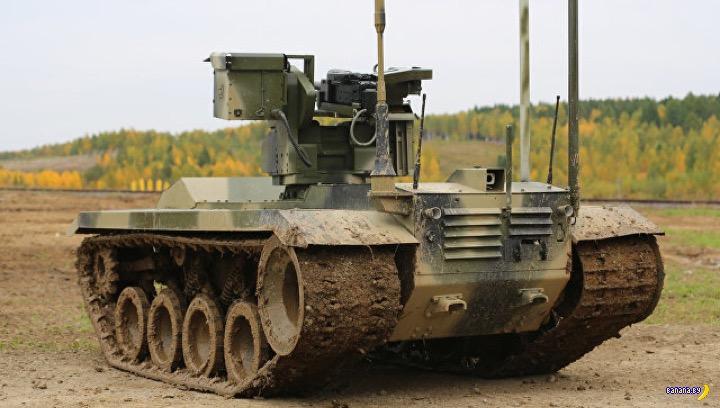 Российский боевой робот Нерехта-2