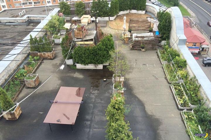 Курорт на крыше