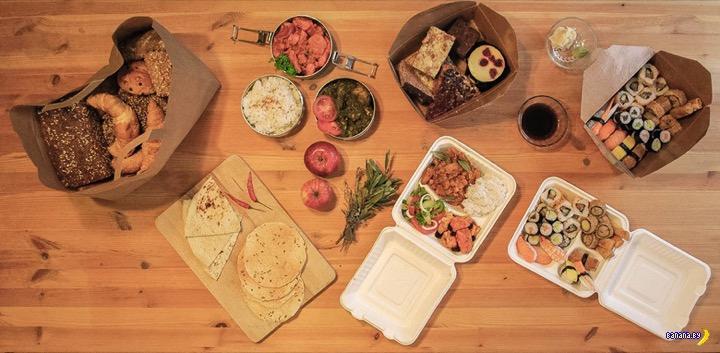 Продажа остатков еды через приложение