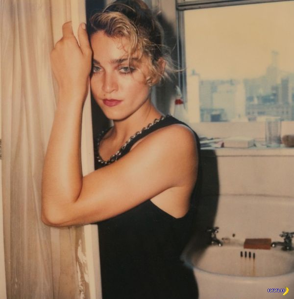 Неожиданные фотографии Мадонны