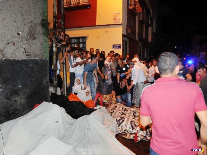 Взрыв на свадьбе в Турции