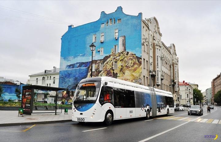 Реакция москвича на белорусский электробус