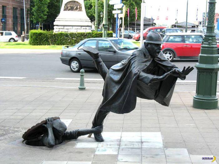Необычные и прикольные скульптуры