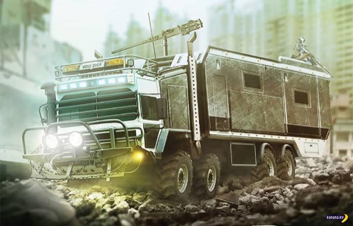 Опрос - выбор машины на случай зомби-апокалипсиса