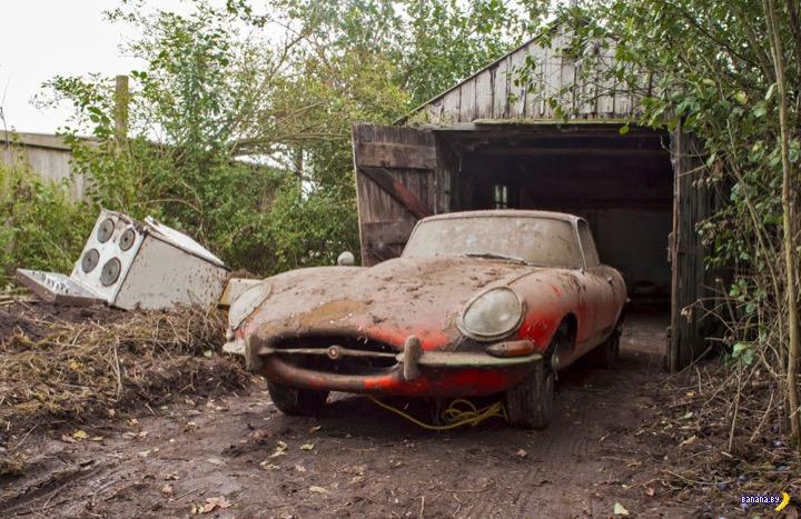Очередной клад из амбара - 1964 Jaguar E-Type