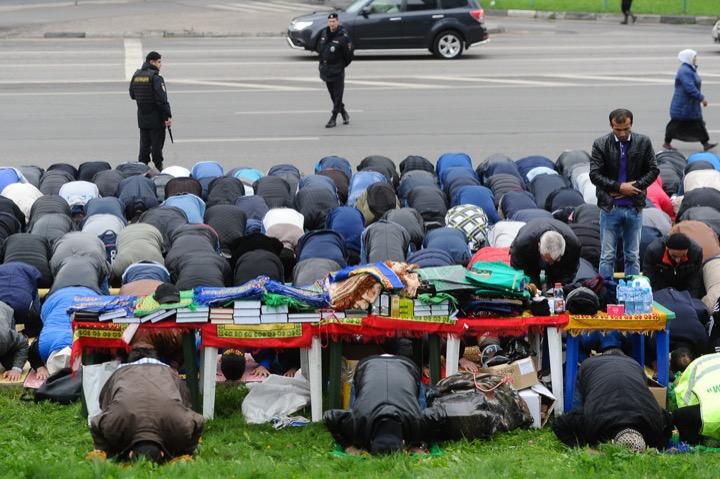 Москва и Курбан-байрам 2016