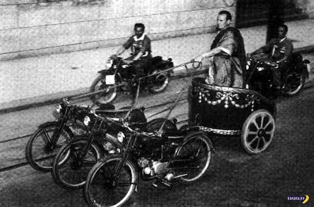 Гонки на мотоциклетных колесницах