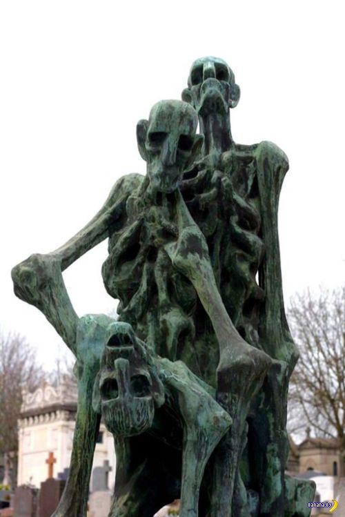 Кладбищенская крипота