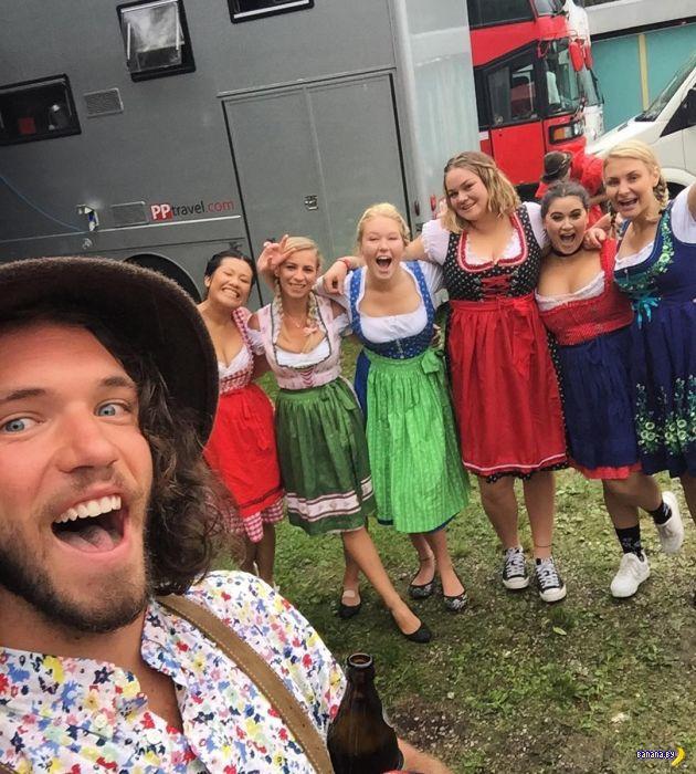 В Германии идет Октоберфест 2016