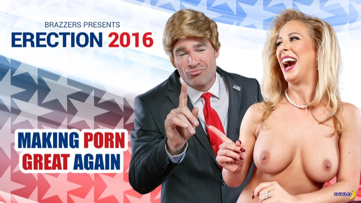 Вышла порно-пародия на выборы в США