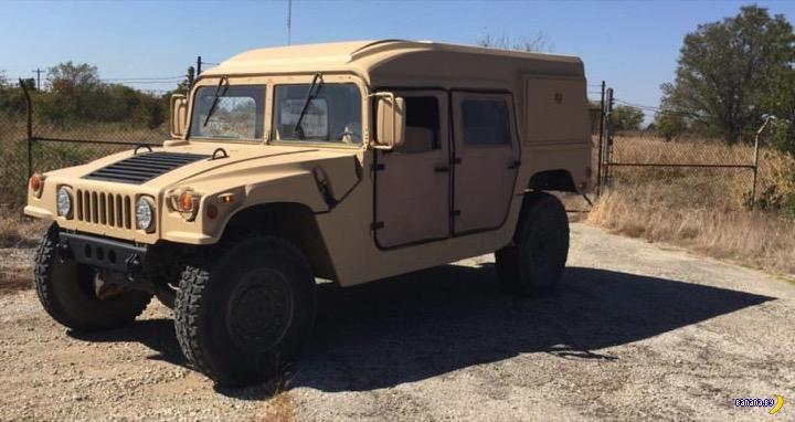 Американская военщина продает Humvee