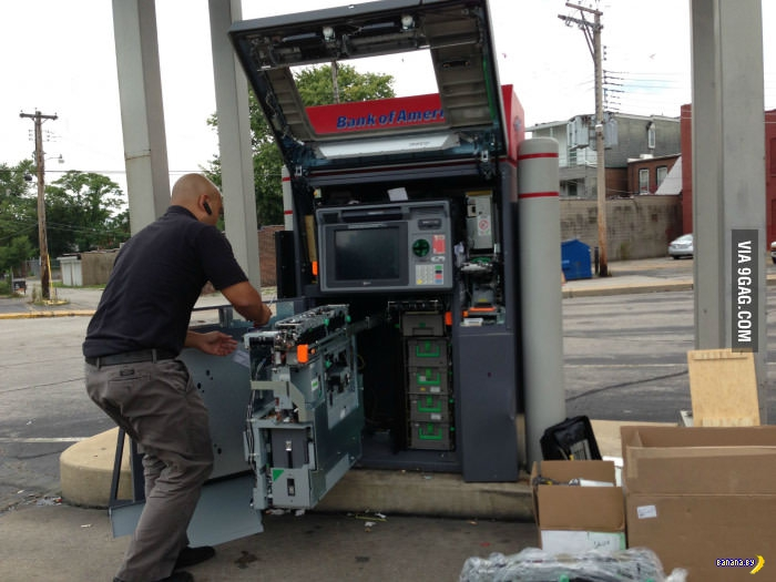 Потрошители банкоматов вышли на новый уровень