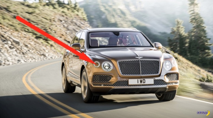 Маленький секрет Bentley Bentayga