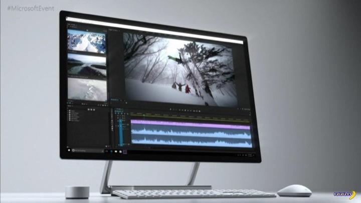 Microsoft представил компьютер-моноблок Surface