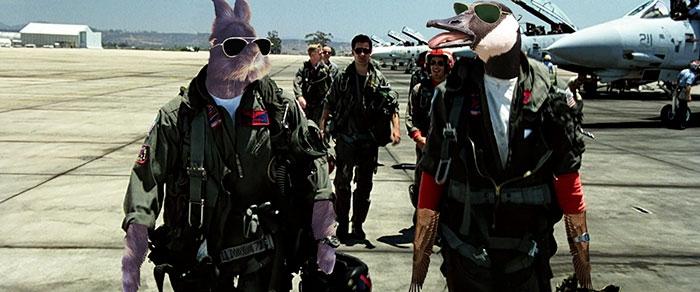 Кролик в очках стал звездой Интернета