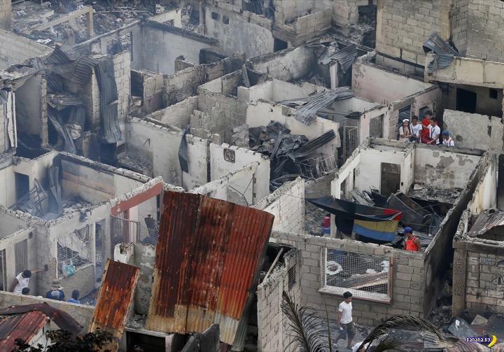 Парадоксальный пожар в Маниле