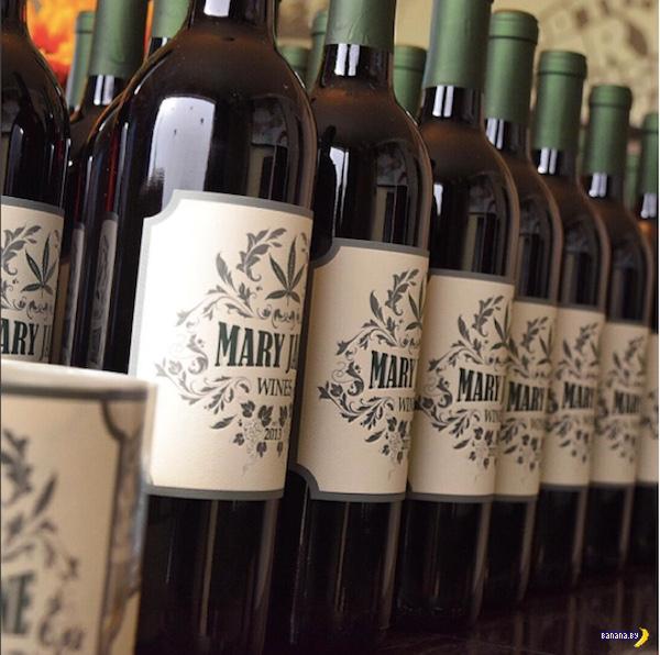 Canna Vine - вино с марихуаной