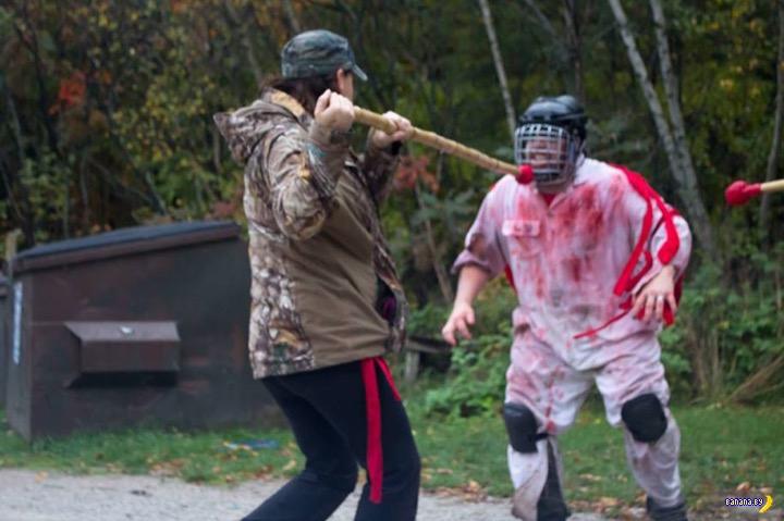 Курсы по выживанию в зомби-апокалипсис