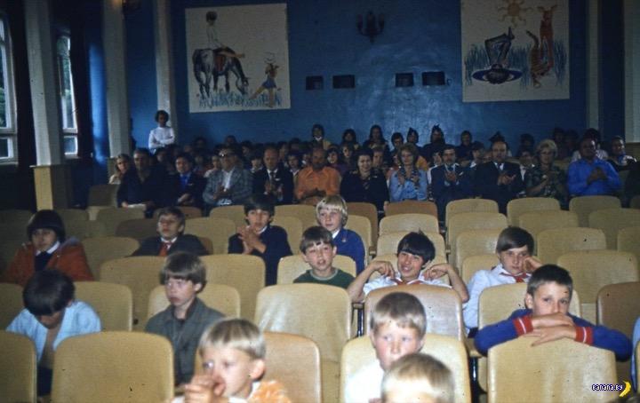 СССР 198х - пионерлагерь