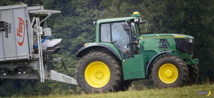 Электрический трактор!