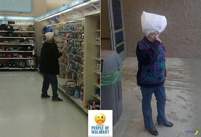Яркие модники из Walmart - 7