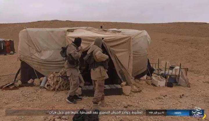 Боевики ИГИЛ отбили Пальмиру