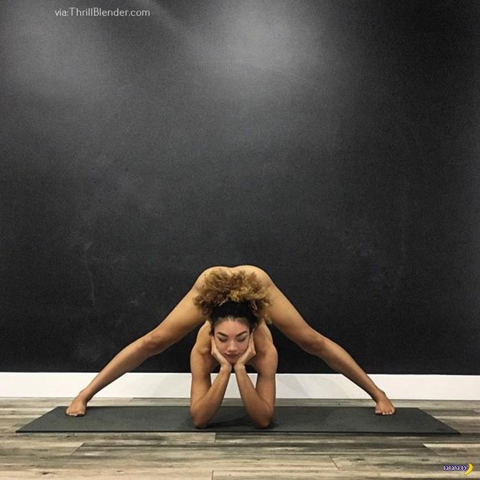 Такая йога нам нравится!