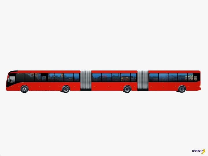 Самый большой автобус в мире