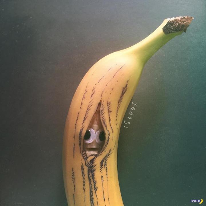 Банановый арт от iSteef