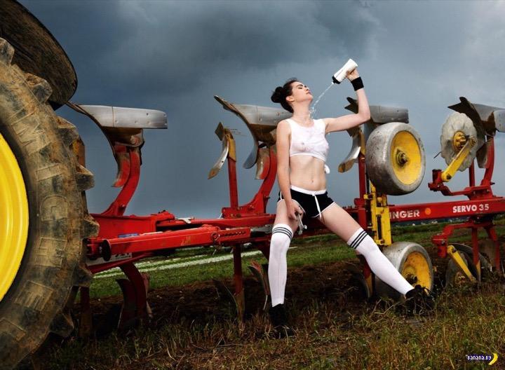 Сексуальные фермерши из Баварии – календарь