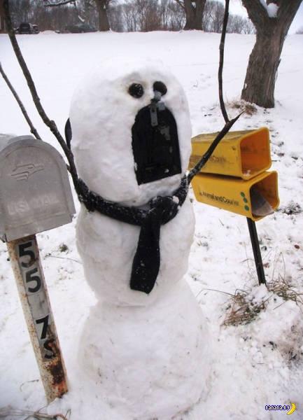Всё о снеговиках