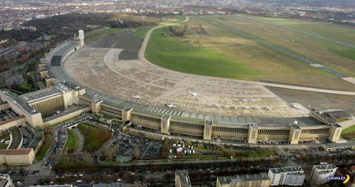 Аэропорт Берлин-Темпельхоф стал лагерем сарацинов