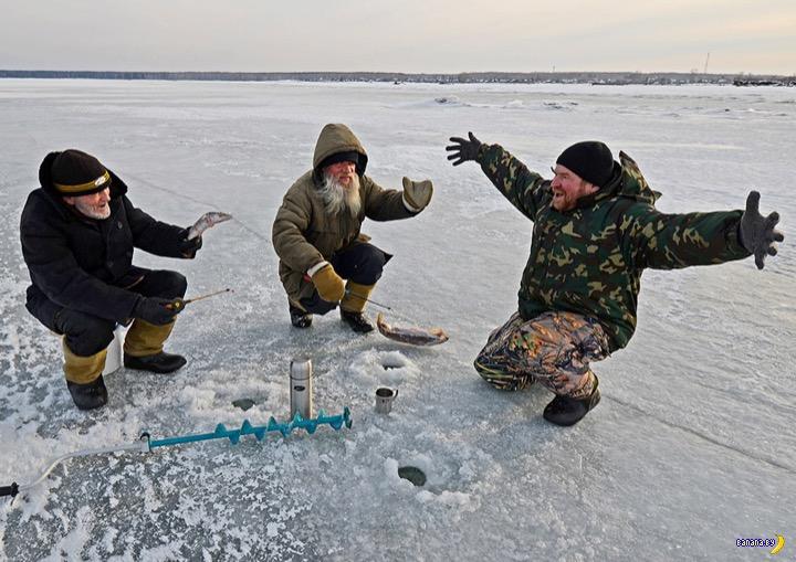 Как мой друг полюбил зимнюю рыбалку