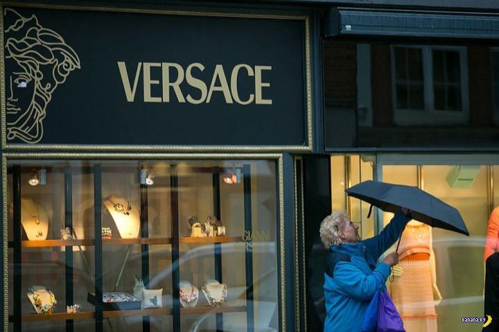 Расистский скандал с магазинами Versace