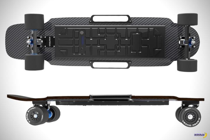 Raptor 2 –электрический скейтборд