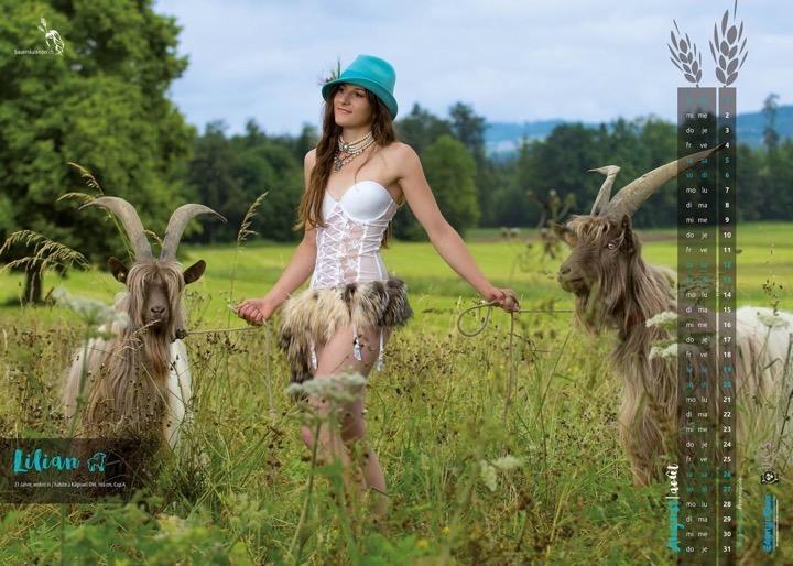 Сексуальные фермерши из Швейцарии – календарь