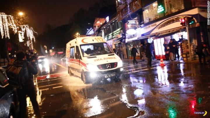 Нападение в новогоднюю ночь в Турции