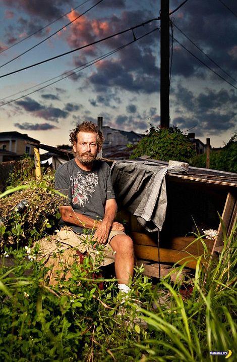 Как живут американские бездомные