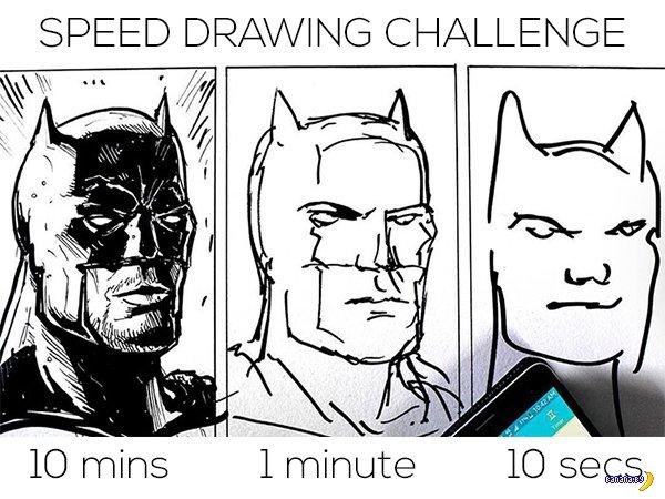 Эксперимент с рисованием на скорость