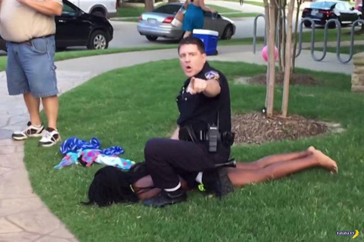 Продолжение истории с полицейским беспределом
