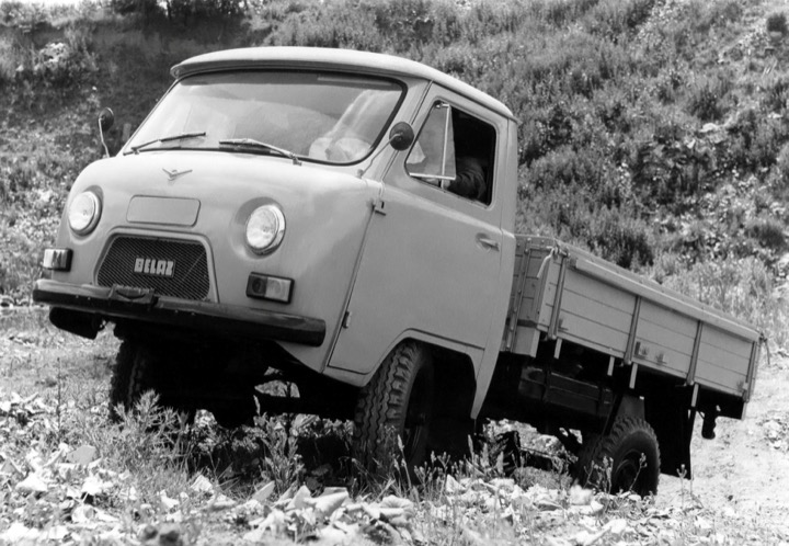 БелАЗ-452Д: самый маленький «БелАЗ»
