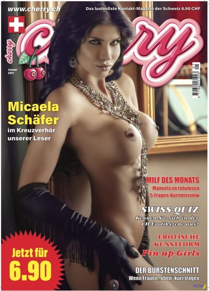 Микаэла Шефер разделась для журнала Candy