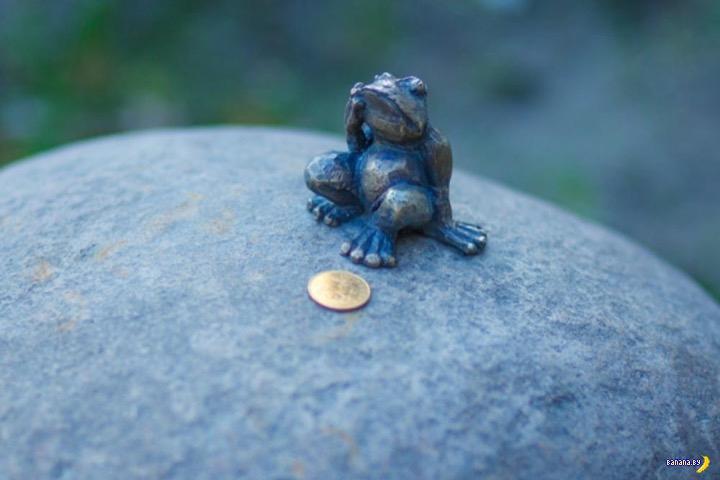 Самые маленькие в мире скульптуры