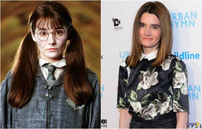 """Актеры из """"Гарри Поттера"""" сейчас"""