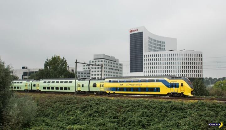 В Голландии все поезда ездят благодаря ветру