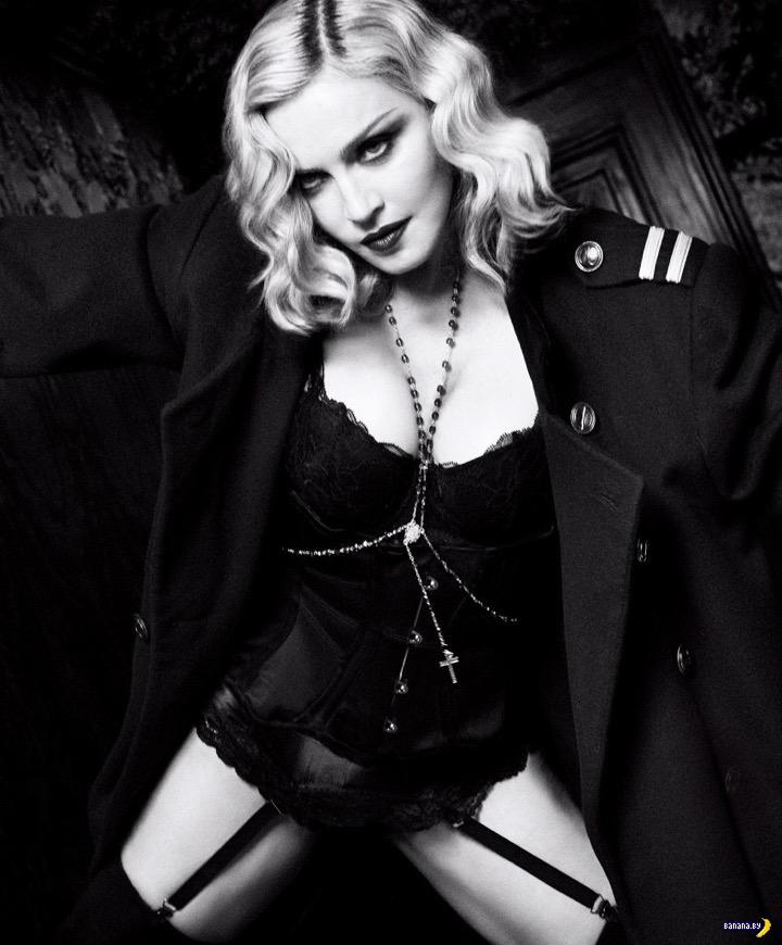 Мадонна для Harpers Bazaar