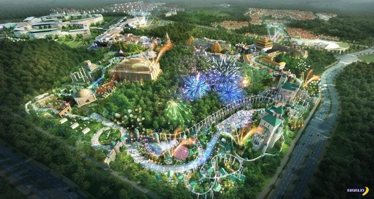 Jeju Shinhwa World - грандиозное казино в Южной Корее