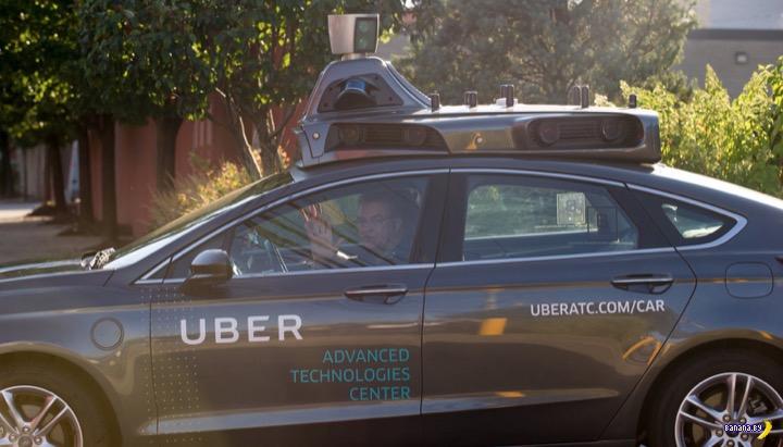 В Нью-Йорке водители восстали против роботов