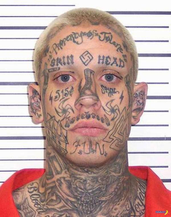 Странное лицо американский преступности