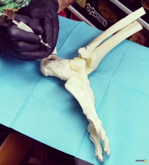 Кристи и её костяная нога